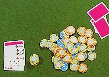 Playing Casino Five-Card Stud Poker