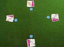 Playing Casino Seven-Card Stud Poker