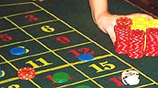 Roulette Casino Dealer / Croupier